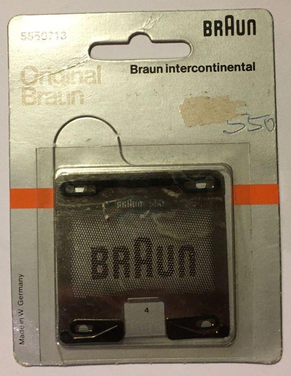 Original Braun Scherfolie 550