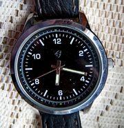 5 BAR wasserdicht Marken-Armbanduhr Lederarmband