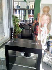 Friseur Bedienplatz freistehend doppelseitig