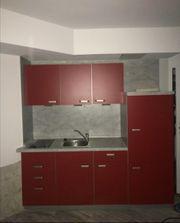 Küchenzeile rot