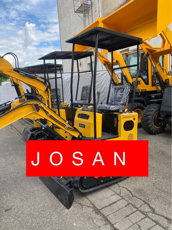 Minibagger Neu Josan B98 Frei