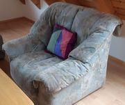 Eckcouch 3-teilig mit Sessel