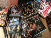 Diverse DVDs Konzerte wrestling Filme