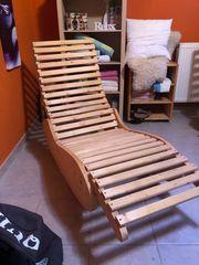 1 Saunaliege Holz