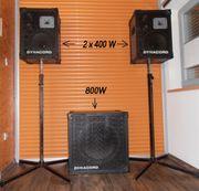 Boxen Lautsprecher Dynacord PA Alleinunterhalter