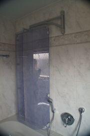 Duschkabine für Badewanne schwenkbar neuwertig