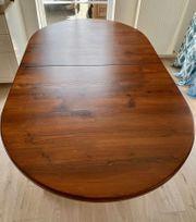 Esstisch Massivholz 189X110cm erweiterbar auf