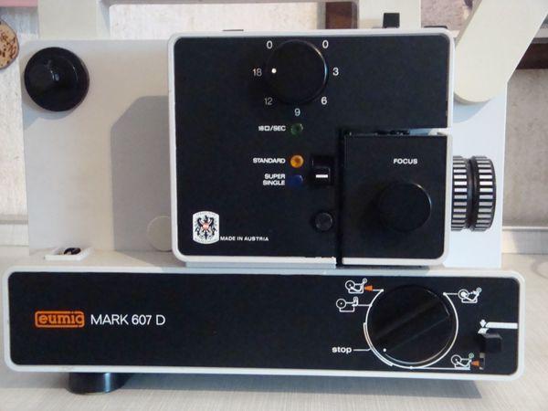 Super 8 Projektor und zubehör
