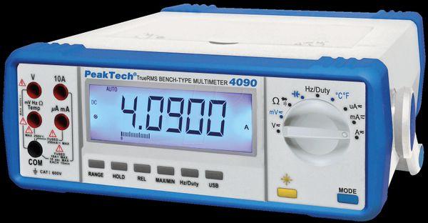 PEAKTECH 4090 Tischmultimeter digital 22000