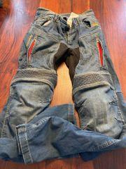 Motorrad Jeans Hose mit Kevlar