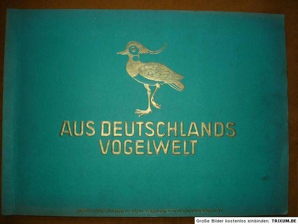 Sammelalbum Aus Deutschlands Vogelwelt
