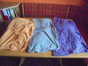 3 Stück Spannbetttücher 140 x
