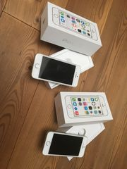 2 x iPhone 5s silber