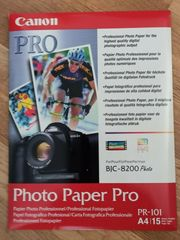 Canon Fotopapier Prof A4 15