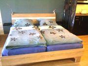Doppelbett Ehebett Holzbett 180x200x42 mit