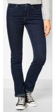 Damen Jeans blue black used