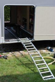 Wohnmobil bewegliche Roller-Rampe fürs Heck