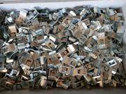 1500 x Etikettenhalter Etikettenclip für