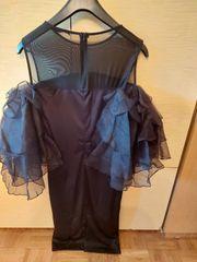 Schwarzes Abendkleid Grösse L