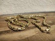 14 Karat Königskette 585 Gelbgold