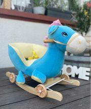 Schaukeltier Schaukelpferd Seepferd Pony mit