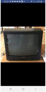 Fernseher Marke Telefunken mit Fernbedienung