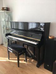Klavier Europa schwarz Hochglanz poliert