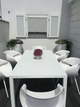 Gartenmöbel - Gartenmöbel 1 Tisch und 6