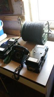 Feldtelefone aus DDR- Zeit