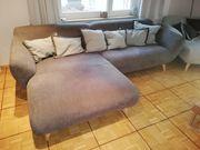 Sofa mit XXL Sessel zu