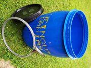 Maisch Fass Blau H80 B50