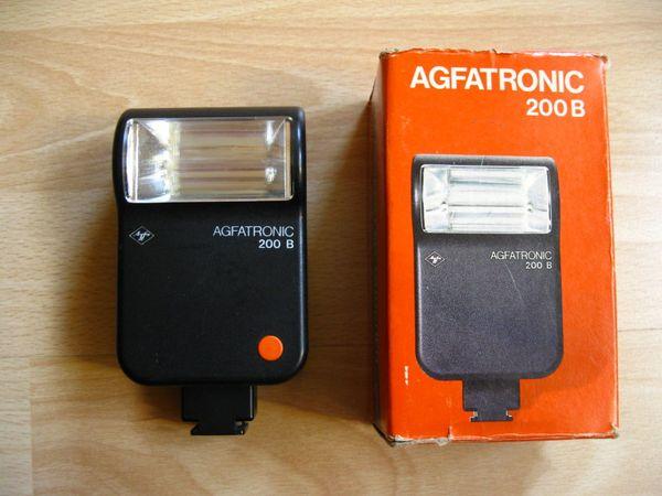 AGFATRONIC 200B Blitzgerät analog guter