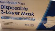 Mund-Nasen-Schutz Masken