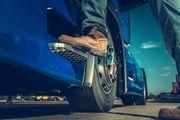 LKW Fahrer in Kranschein