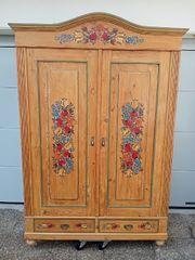 Kleiderschrank Garderobenschrank Antik