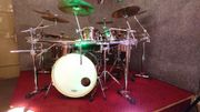 Gretsch Drumkit inkl Hardware Cymbals