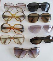9 ALTE SONNENBRILLE Brille 1970iger