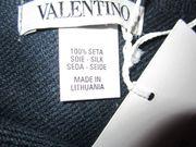 Valentino Schal 100% Seide OVP in dunkelblau gebraucht kaufen  München