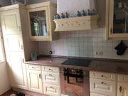 Einbauküche Gelb in L-Form mit