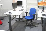 BIOSWING 460 Bürodrehstuhl mit Armlehnen