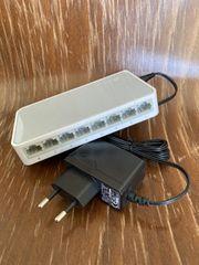 TP-Link TL-SF1008D 8-Port 10 100MBit