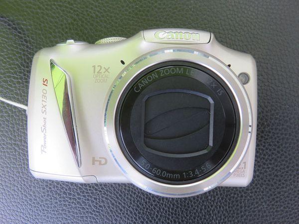 Canon PowershotSX130 IS sehr guter Zustand optisch und technisch einwandfrei, silber
