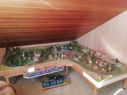 Eisenbahnanlage Märklin