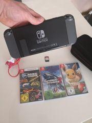 Nintendo switch 4 Spiele