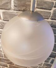 Lampe gebraucht Milchglas