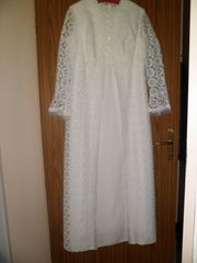 Brautkleid original 70er Jahre Brautmoden