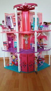 Biete Barbie 3-stöckige Traumvilla Traumhaus