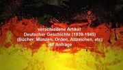 verschiedene Artikel Deutscher Geschichte 1939-1945