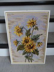 Gobelinbild Sonnenblumen