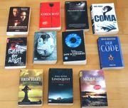 11x Thriller Krimis Taschenbücher auch